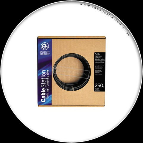 Planet Waves Bulk 25ft coil inst.cable& mini cutter PW-INSTC-25