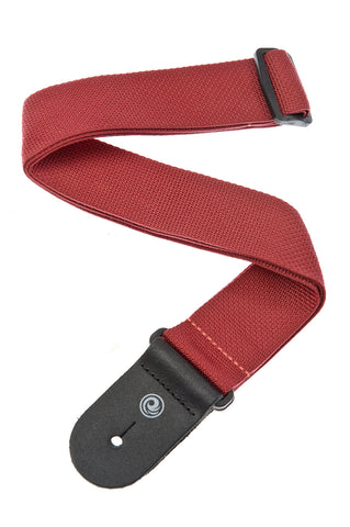 Planet Waves Polypro Basic Guitar Strap Red PWS101