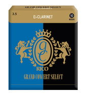Rico Grand Concert Select Eb Clarinet Reeds, Strength 3.5, 10-pack - RGC10ECL350