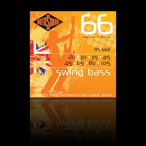 Rotosound RS668 8 String Roundwound 20-105