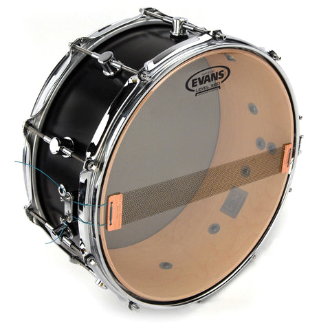 Evans S14H30 14 inch Hazy 300 Resonant Snare