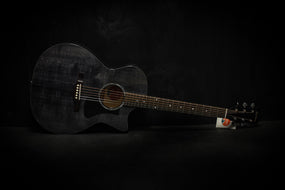 Eastman Guitars PCH3-GACE Limited Edition Black Stained Acoustic Guitar