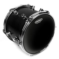 Evans Black Chrome Drum Head, 6 Inch