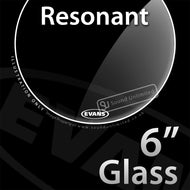 Evans TT06RGL 6 inch Resonant Glass