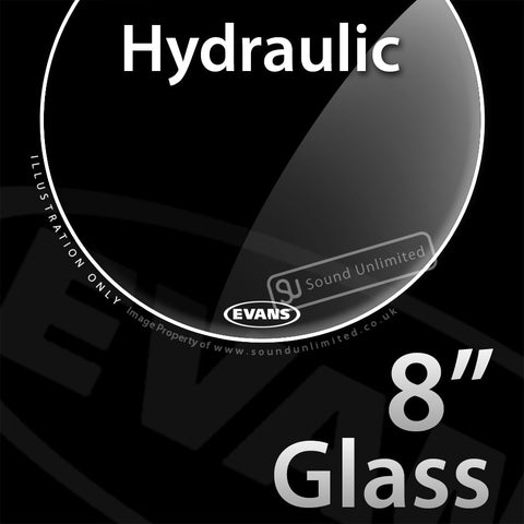 Evans TT08HG 8 inch Hydraulic Batter Glass 2-ply