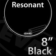 Evans TT08RBG 8 inch Resonant Black