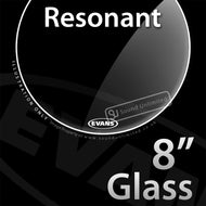 Evans TT08RGL 8 inch Resonant Glass