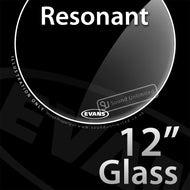 Evans TT12RGL 12 inch Resonant Glass