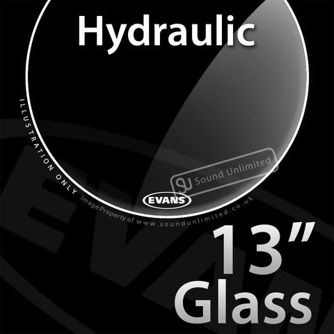 Evans TT13HG 13 inch Hydraulic Batter Glass 2-ply