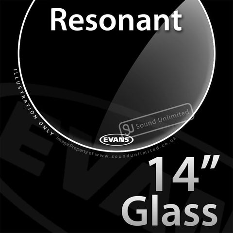 Evans TT14RGL 14 inch Resonant Glass