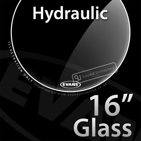 Evans TT16HG 16 inch Hydraulic Batter Glass 2-ply