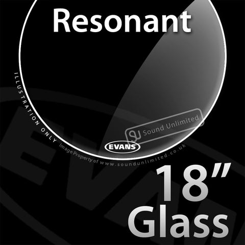 Evans TT18RGL 18 inch Resonant Glass