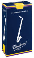 Vandoren Reeds Alto Clarinet 3 Traditional (5 BOX) - CR143