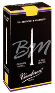 Vandoren Reeds Clarinet Bb 5+ Black Master (10 BOX) - CR186