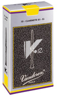Vandoren Reeds Clarinet Bb 5+ V12 (10 BOX) - CR196