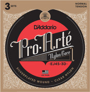 DAddario EJ45-3D Pro-Arte Normal Tension  X 3