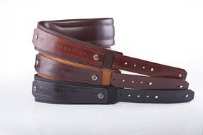 GruvGear SoloStrap Premium Leather Guitar Strap (Chocolate) - GG-SOLOSTRAP-BRN