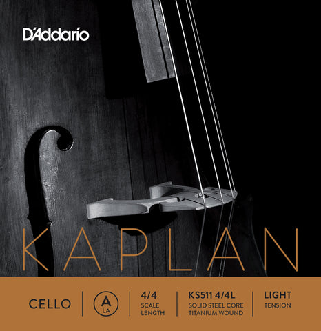Daddario Kaplan Cello 4/4 Lgt - Ks511 4/4L