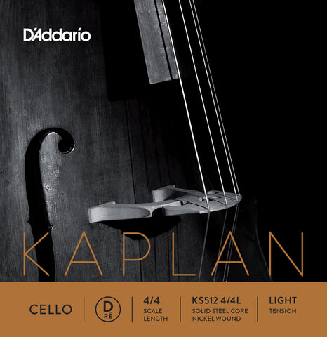 Daddario Kaplan Cello D 4/4 Lgt - Ks512 4/4L