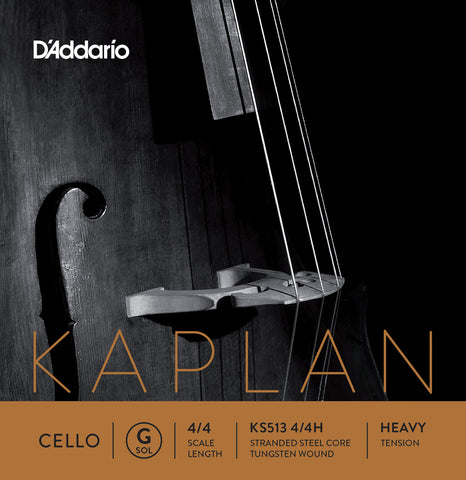 Daddario Kaplan Cello G 4/4 Hvy - Ks513 4/4H