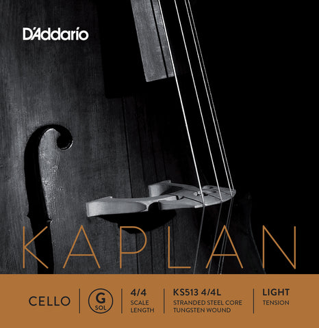 Daddario Kaplan Cello G 4/4 Lgt - Ks513 4/4L