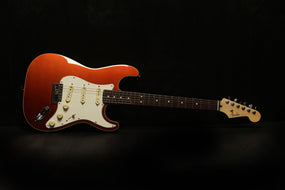 Fender Japan Modern Stratocaster, Rosewood Fingerboard, Sunset Orange Metallic