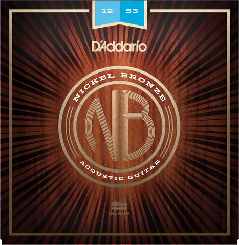 D'Addario Nickel Bronze 12-53 - NB1253