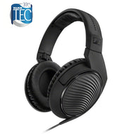Sennheiser HD 200 PRO Hi-fi stereo headphones, 32 Ω, closed, cable 2m with 3.5mm jack, includes adapter to 6.3mm jack