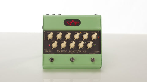 Carvin Legacy Drive Preamp Pedal UK - Steve Vai