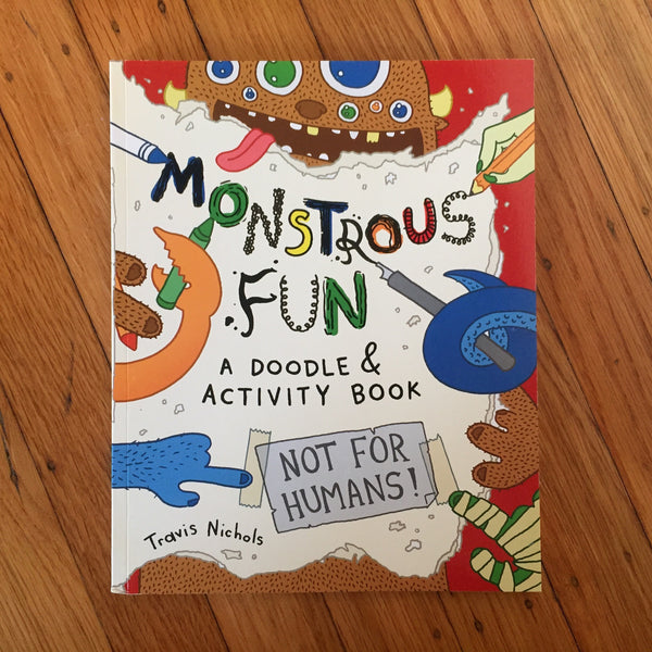Monstrous Fun (activity book, signed)