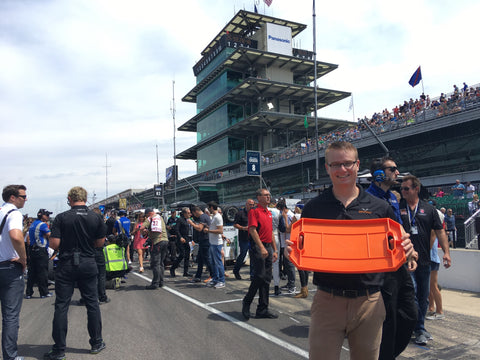 Tom at Indy500