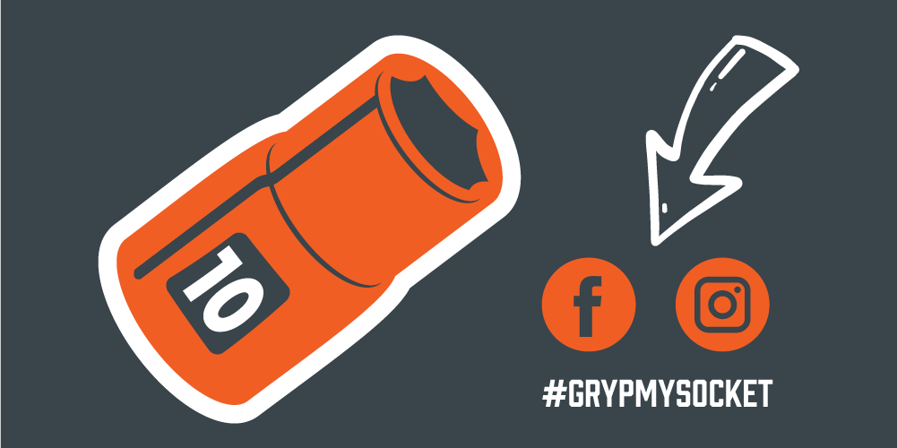 Share about Grypmat 10mm socket on Instagram and Facebook