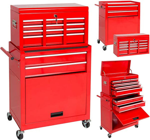Best Choice Products Rolling Tool Storage