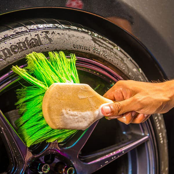 brush for washing a motorcycle or car