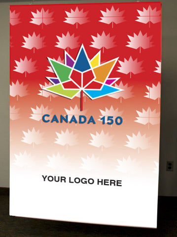 Canada 150 Banner (Ceiling Mount)