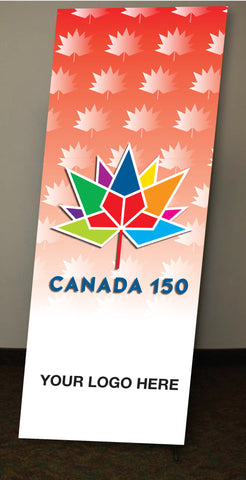 Canada 150 Banner (X Frame)