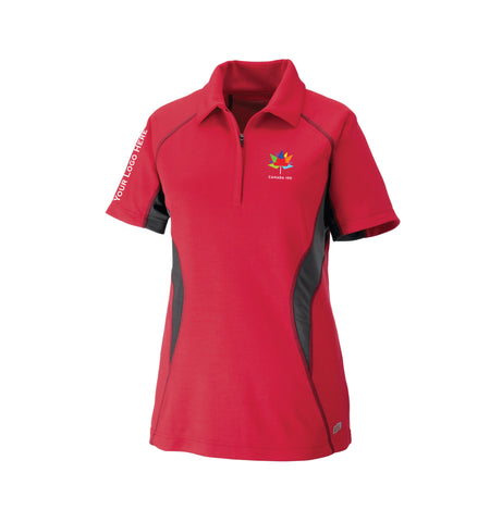 Women's Canada 150 Performance Zippered Polo