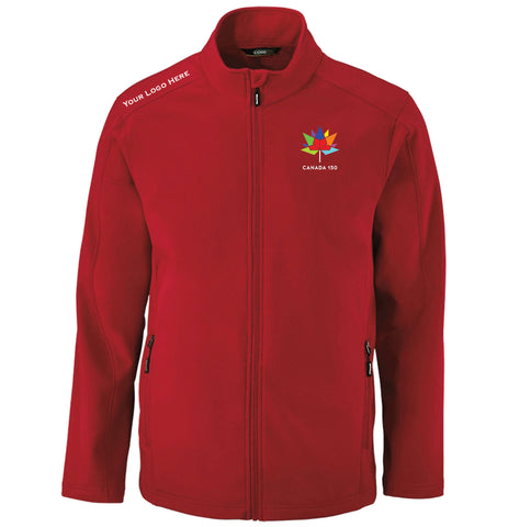 Men's Canada 150 Double Layer Fleece Bonded Soft Shell Jacket