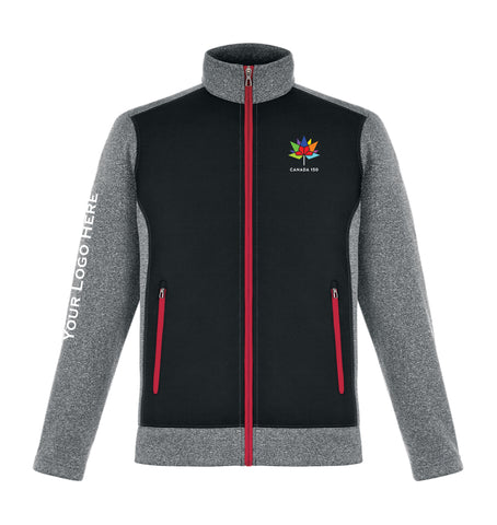 Men's Canada 150 Hybrid Performance Fleece Jacket