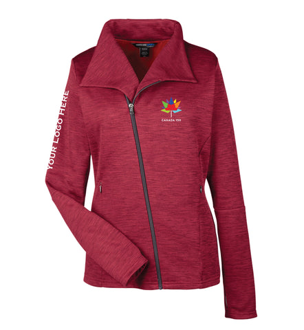 Women's Canada 150 Melange Fleece Jacket