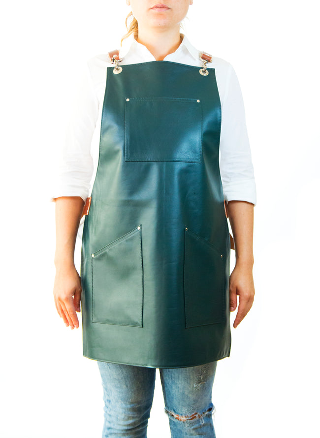 Green Leather Apron