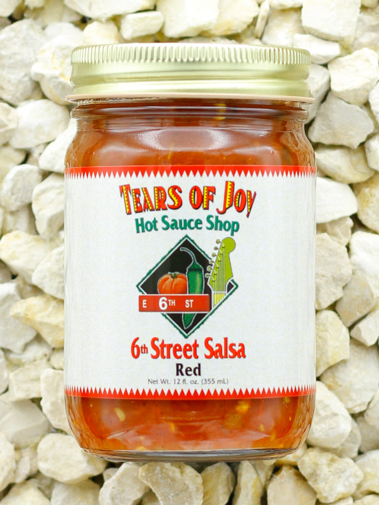 Tears Of Joy Hot Sauce Shop - 6th Street Salsa - Red