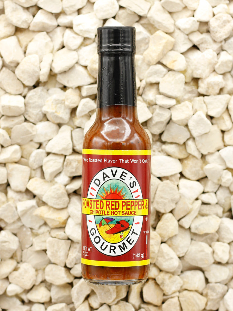 Dave's Gourmet - Roasted Red Pepper and Chipotle Hot Sauce