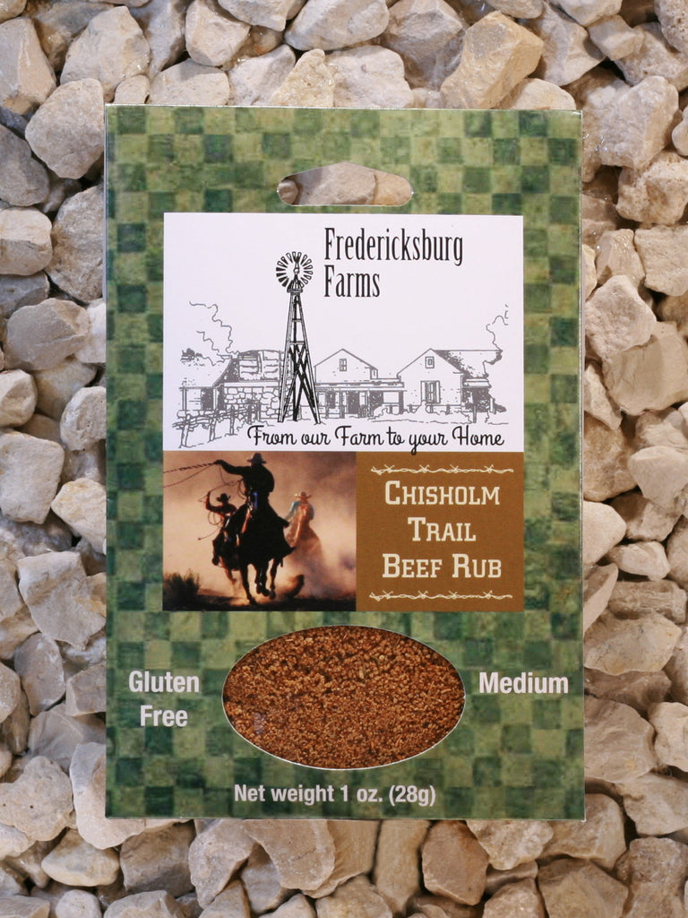 Fredericksburg Farms - Chisholm Trail Beef Rub