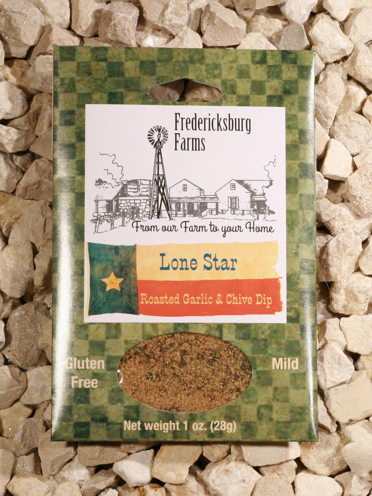 Fredericksburg Farms - Lone Star Roasted Garlic & Chive Dip