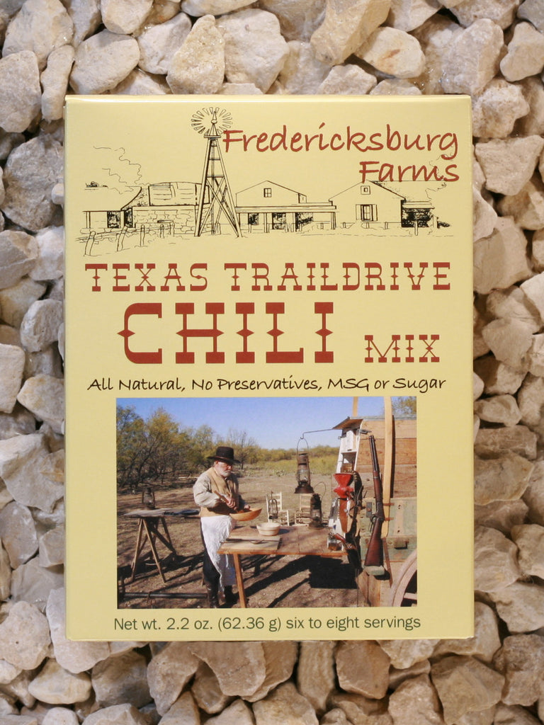 Fredericksburg Farms - Texas Traildrive Chili Mix