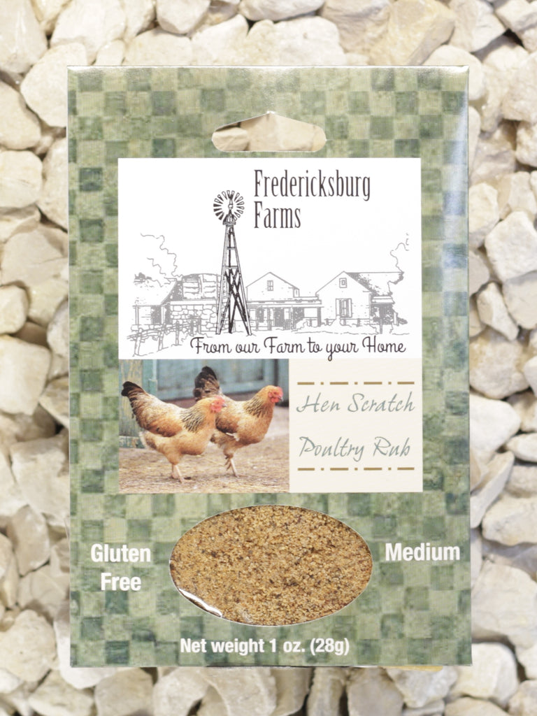 Fredericksburg Farms - Hen Scratch Poultry Rub