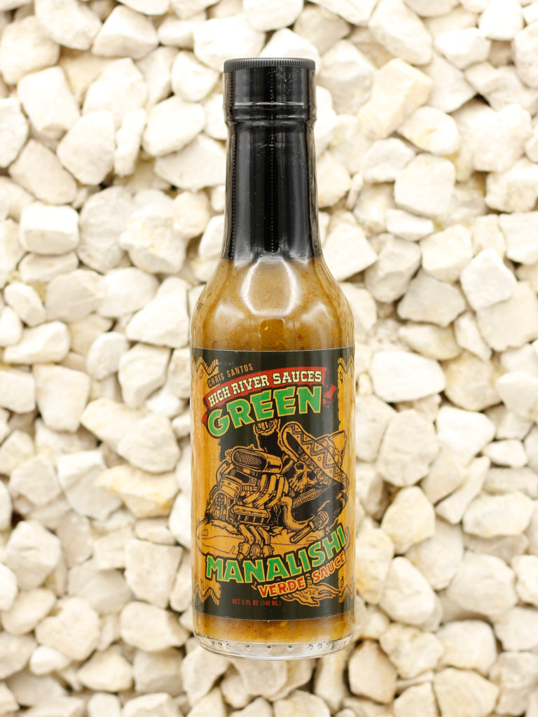 High River Sauces - Green Manalishi