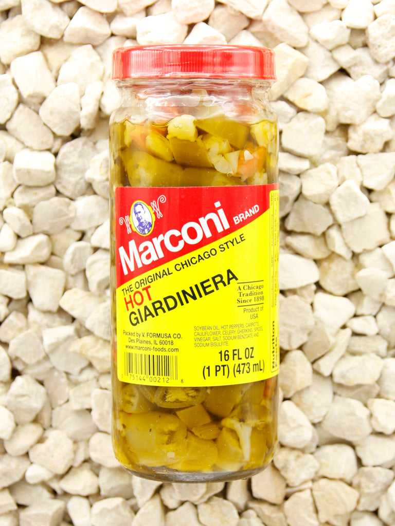 Marconi - Hot Giardiniera - 16 oz.