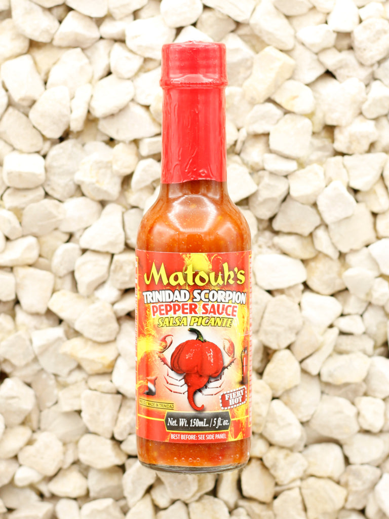 Matouk's - Trinidad Scorpion Pepper Sauce - 5 oz.